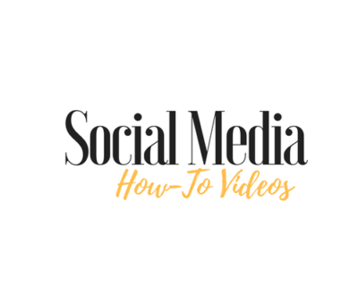 Social Media How-To Videos