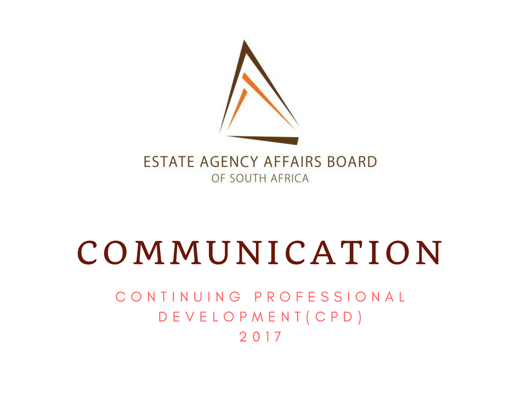 Communication from the EAAB - CPD 2017