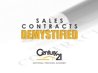 Century 21 Sales Contract Demystified