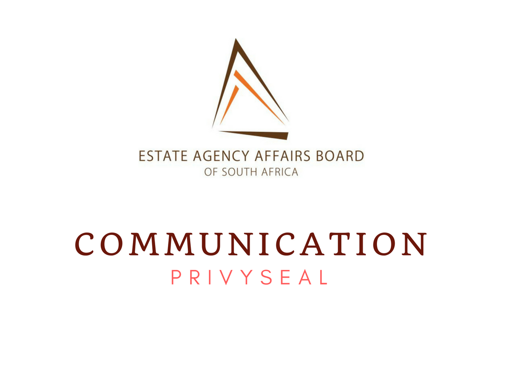 Century 21 National Training Academy South Africa Communication from the EAAB - Privyseal 2017