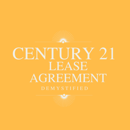 Century 21 Lease Agreement Demystified