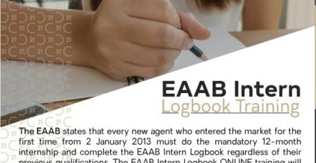 Century 21 National Training Academy EAAB Intern Logbook Training